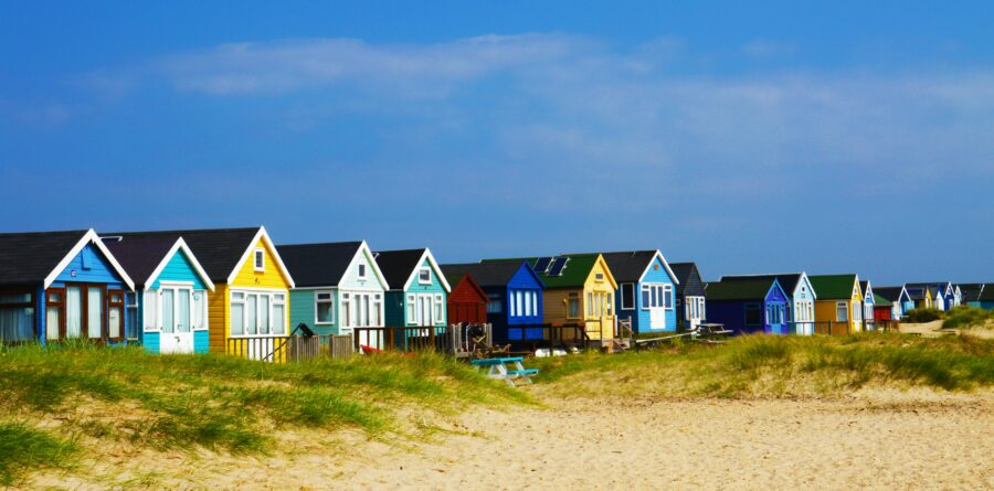 Beach hut rental prices soar due to dramatic rise in staycations